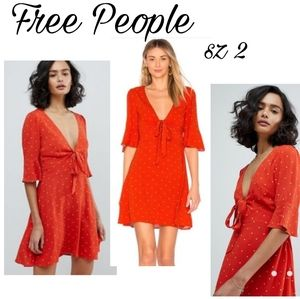 "Free People ""All yours"" mini dress. Sz 2. $128"